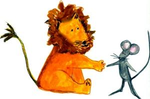 Lion + Mouse